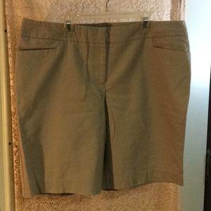 Tan dressy shorts